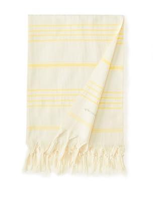 Nomadic Thread Society Venice Hammam Towel, Yellow