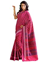 Orbymart Exclusive Designer Raw Silk Multi Colour Printed Saree - 55253566