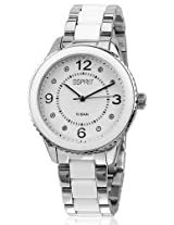 Esprit Analog White Dial Women's Watch - ES106192002-N