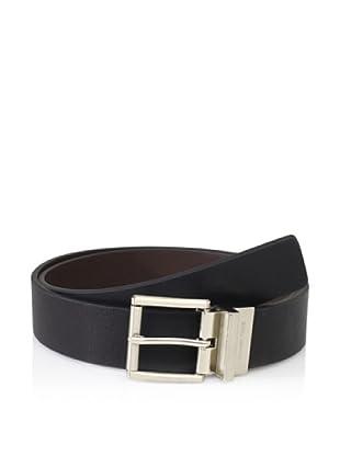 Michael Kors Men's Roller Reversible Belt (Black/brown)
