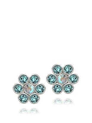Saint Francis Crystals Ohrstecker Made with Swarovski® Elements aquamarinblau