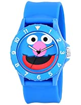Sesame Street Unisex Sw4920Gr Grover Sport Blue Slap Watch