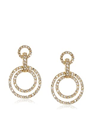 Belargo Double Circle Drop Earrings
