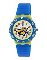 Maxima Analog White Dial Children's Watch - 04476PPKW