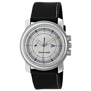 Fastrack Economy Analog Silver Dial Men's Watch - NE3039SL01