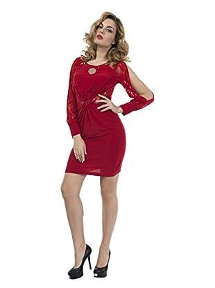 Via Bellucci Vestido Natalia (Rojo)