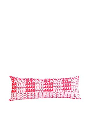 Trina Turk Pop Art Body Pillow, Orange