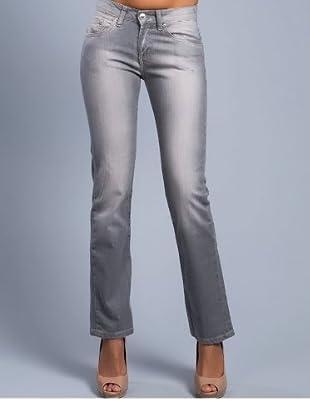 Cortefiel Jeans Slim Fit (Grau)