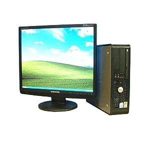 【クリックで詳細表示】中古PC メモリー4GB!DELL Optiplex 745SF PentiumD 3.4GHz WinXP Pro 19型液晶