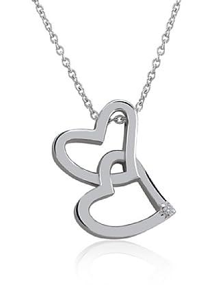 Divas Diamond Collar Diamante Two Corazón