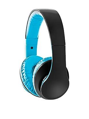Sharper Image Deep Bass Stereo Headphones (Blue)