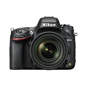Nikon D610 24.3 MP Digital SLR Camera (Black) with with AF-S 24-85mm VR Kit Lens