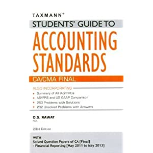 Students' Guide to Accounting Standards (CA/CMA Final)