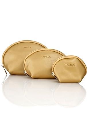 Furla Necessaire Matrioska Classic (Gold)