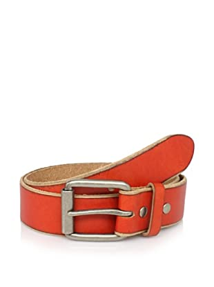 Bill Adler Men's Jelly Bean Belt (Orange)