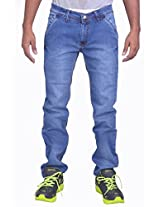 """Altran's Tapered Fine Fabric 5 Pocket Stretchable for Short Heighted (Jeans Length 40"""") 5247CH (Size:- 36)"""