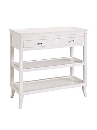 Artistic Tamara Lacquered Hall Table, White