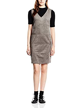 Tom Tailor Vestido soft fake velours shift dress/510
