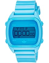 Adidas Digital Blue Dial Unisex Watch - ADH2893