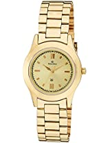 Maxima Analog Gold Dial Women's Watch - 34704CMLY