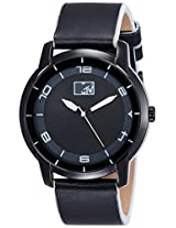 MTV Analog Black Dial Men's Watch - B7018WH