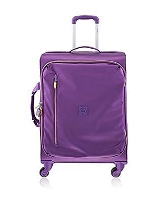 Delsey Trolley semirrígido Solution Púrpura 65 cm