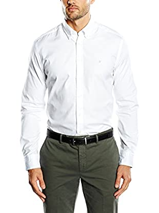 Hackett London Camisa Hombre Plain Oxford Emb