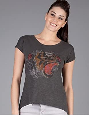 Levis T-Shirt Cropped Hem (Grau)