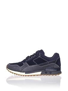 Diesel Men's High Speed Sneaker (Total Blue/Ebony)