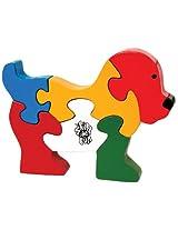 Skillofun - Take Apart Wooden Puzzle Doggie