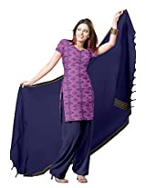 Platinum Traditional Printed Cotton Salwar Suit