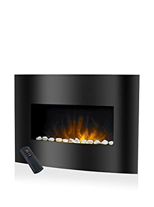 Trademark Global Balmoral Electric Fireplace Heater with Remote