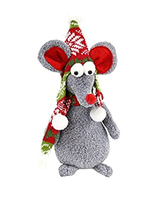 Decoracion Navideña Figura Navidad Ratón