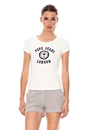 Pepe Jeans London T-Shirt Diane (Beige)