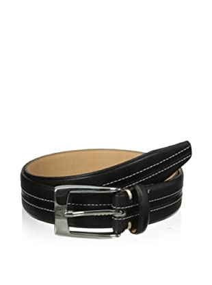 The British Belt Company Men's Launde Belt (Black)