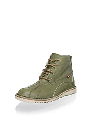 Oliberté Men's Kuko Boots (Olive/Tan)