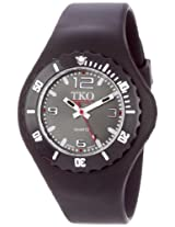 TKO ORLOGI Women's TK595BK Beach Lightweight Black Rubber Watch