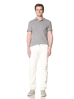 GANT by Michael Bastian Men's The M.B. Pressed White Jean (White Cap)