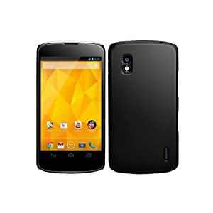 Screenward Hard Case for LG Google Nexus 4 E960 (Black)