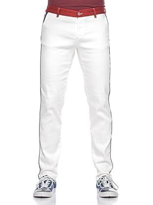 Love Moschino Pantalón Cintura Color (Blanco)