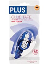 Plus Corporation Plus High Capacity Glue Tape Dispenser, 0.33-Inch by 72-Feet