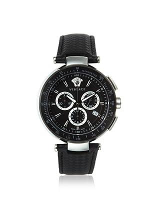 Versace Men's I8C99D008 S009 Mystique Black IP Chronograph Tachymeter Watch