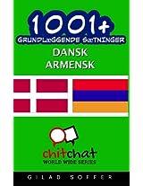 1001+ Grundlaeggende Saetninger Dansk - Armensk