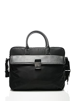 Furla Aktentasche mit Laptopfach London (Schwarz)
