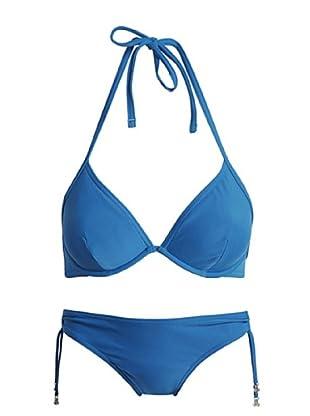 ESPRIT Bodywear Damen Bikini Z1110/Habor Islan.Smu (Blau (29))