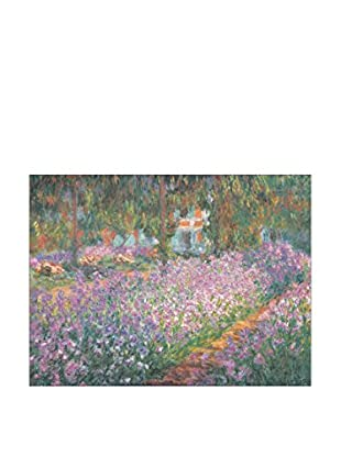 Artopweb Panel Decorativo Monet Jardin A Giverny 80x60 cm Multicolor