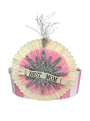 Tinsel Trading Co. Best Mom Crown, Pink/Multi
