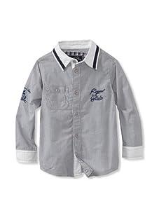 KANZ Boy's Long Sleeve Shirt (Striped)