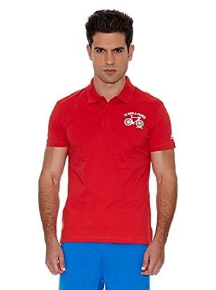 Le Coq Sportif Polo Tdf Fanwear Nº3 Polo Ss M (Rojo)