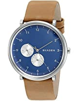 Skagen End-of-Season Hald Chronograph Blue Dial Men's Watch - SKW6167